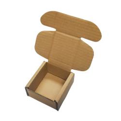 Pudełko fasonowe brązowe 100x100x50 mm 20 sztuk