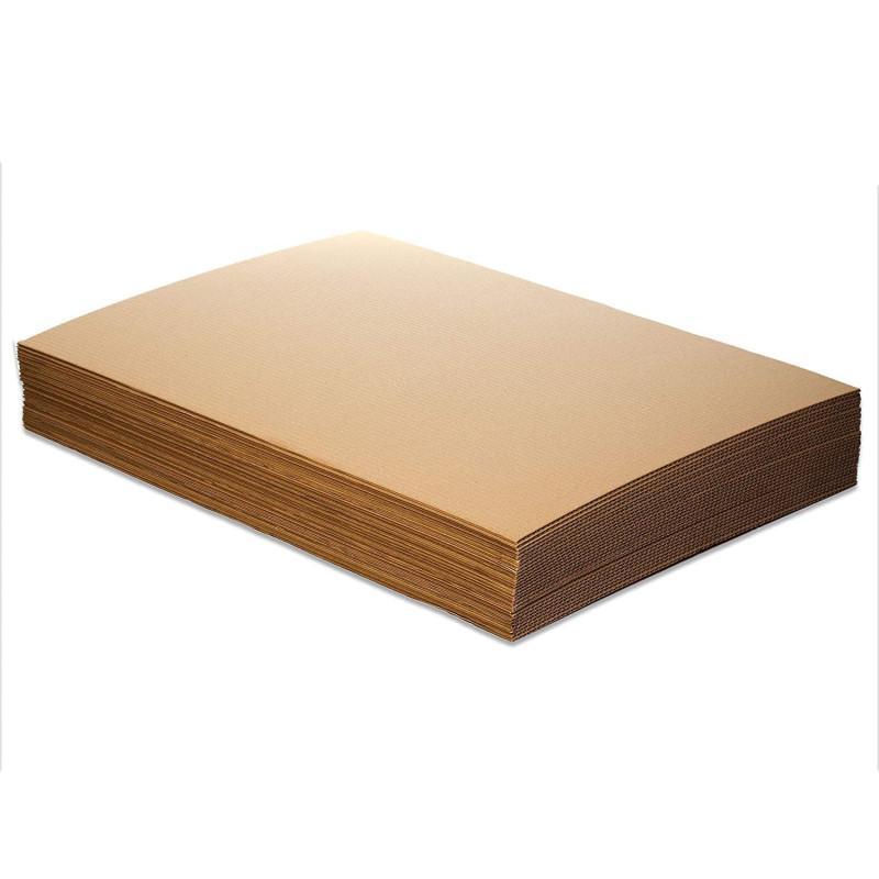 Przekładka tekturowa brązowa 70x50 cm 50 szt.