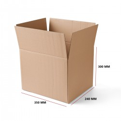 Karton klapowy 350x240x300 mm 20 sztuk