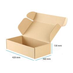 Karton fasonowy brązowy mocny 420x360x130 mm 20 sztuk