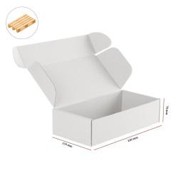 Karton fasonowy biały 240x170x70 mm 4240 szt - paleta