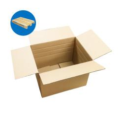 Karton klapowy z dodatkowym bigowaniem 390x295x300 mm paleta 400 sztuk