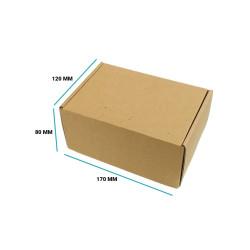 Karton fasonowy 170x120x80 brązowy E gramatura 470 g/m2