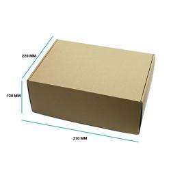 Karton fasonowy 310x220x120 brązowy E gramatura 470 g/m2