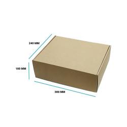 Karton fasonowy 300x240x100 brązowy E gramatura 470 g/m2