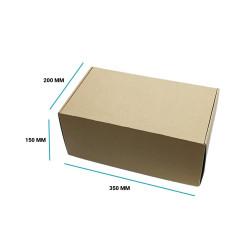 Karton fasonowy 350x200x150 brązowy E gramatura 470 g/m2