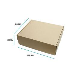 Karton fasonowy 380x310x120 brązowy E gramatura 470 g/m2